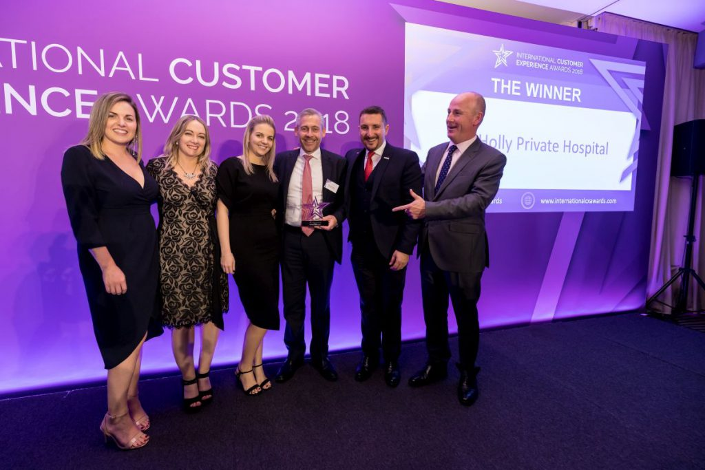 Winners at International Customer Experience Awards