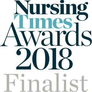 Nursing Times Awards 2018 Finalist