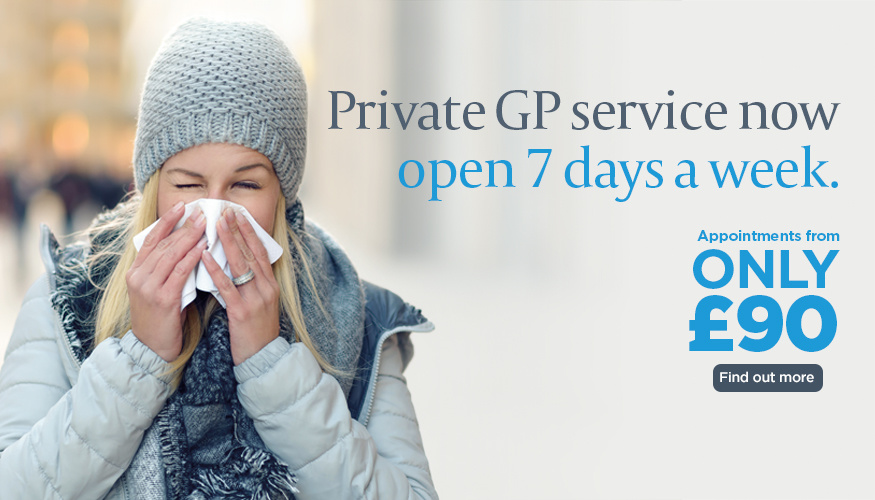 Private GP service at The Holly